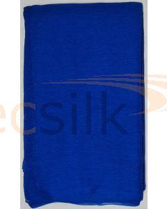 Chiffon Silk Saree With Blouse Blue