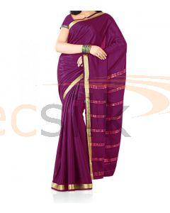Silk Saree Crepe Rani