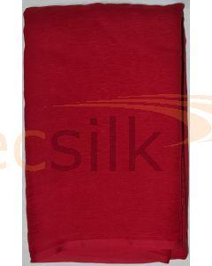 Chiffon Silk Saree With Blouse Red