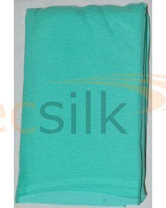 Chiffon Silk Saree With Blouse Sky Blue