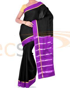 Crepe Bentex Bright Purple Black