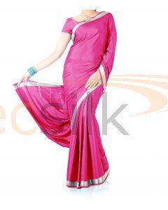 Silk Crepe Saree Rani