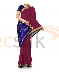 Pure Crepe Silk Saree Rani
